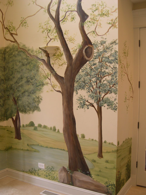 tree murals wall - photo #26
