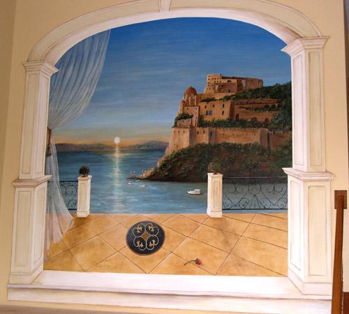 Sunset Wall Murals Debbie Cerone Murals