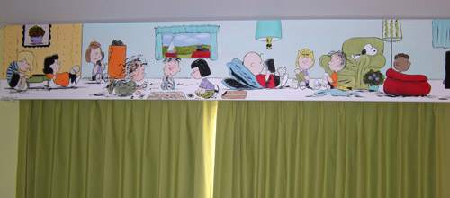 Peanuts Cornice - Window Treatments