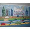 Cars and Trucks - Mural for Boys Room